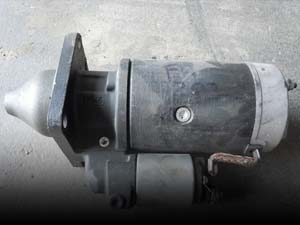 Used Auxiliary Electric Motor