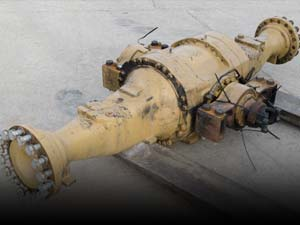 Used axles and brakes