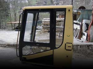 Used cabs and FOPS/ROPS protections