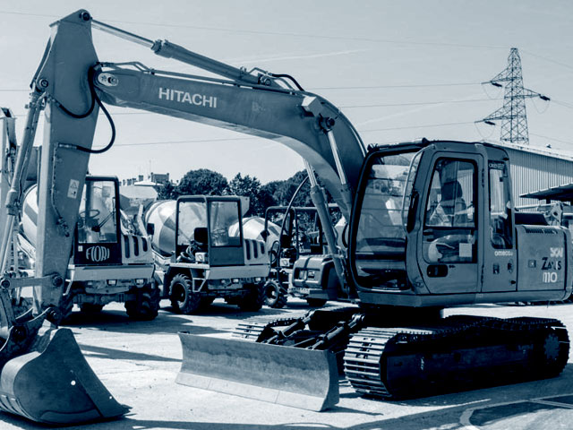 Used 12T Crawler Excavators