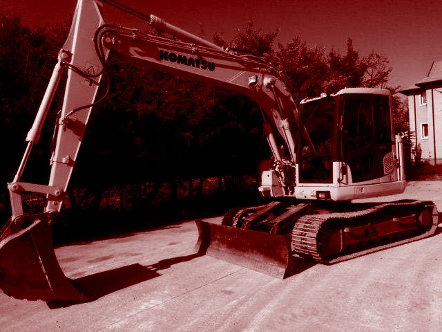 Used 15T Crawler Excavators