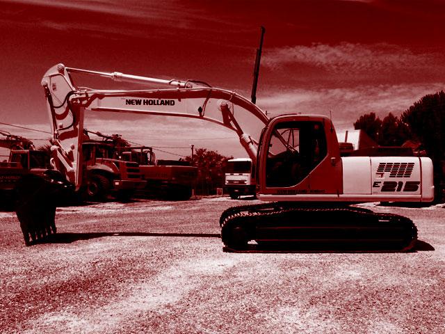 Used 22T Crawler Excavators
