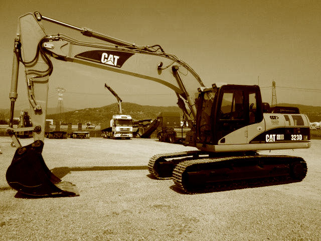 Used 25T Crawler Excavators