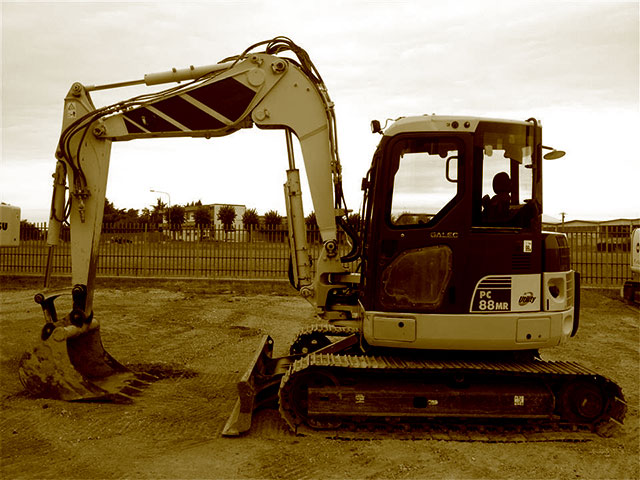 Used Mini Excavators over 8T