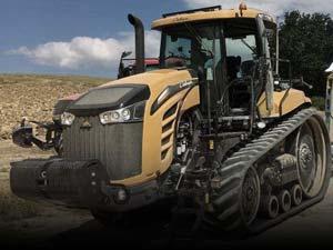 Used crawler tractors