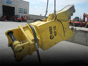 Used demolition crushers