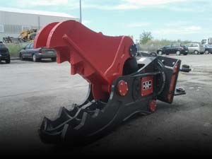 Used Demolition Grabbers