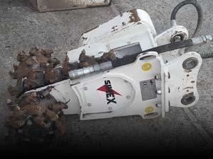 Earthmoving equipments