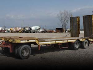 Used Flatbed Trailers