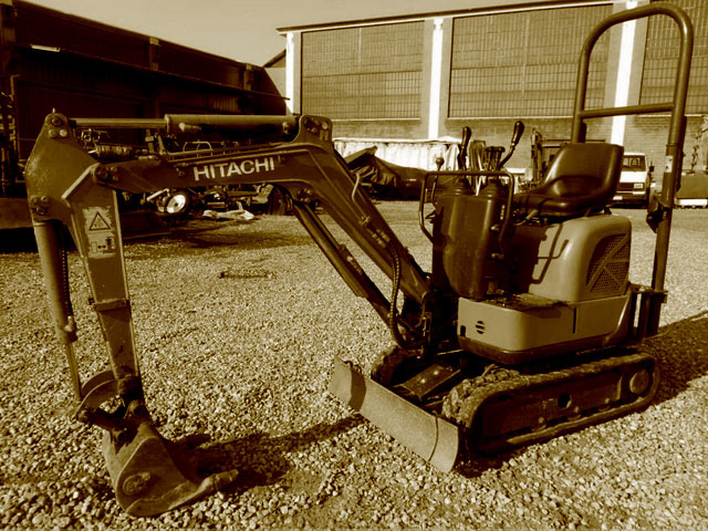 Used 1.2T mini excavators
