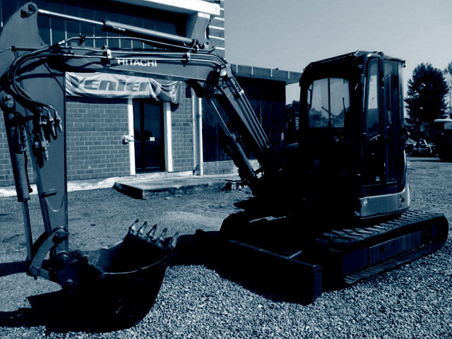 Used 5T mini excavators
