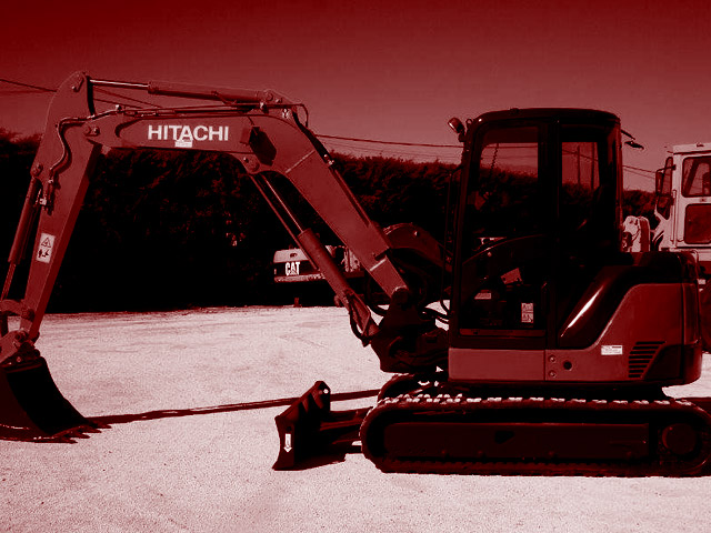 Used 6T mini excavators