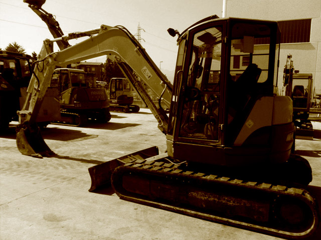 Used 7.5T mini excavators