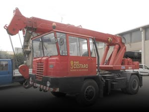 Used mobile cranes