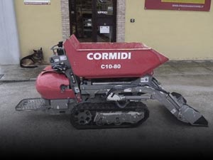 Used Power barrows and minidumpers