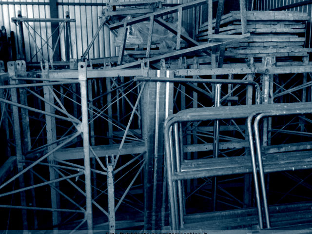 Used Scaffolding, Sheet Piles and Steel Props