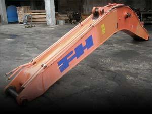 Used excavator booms
