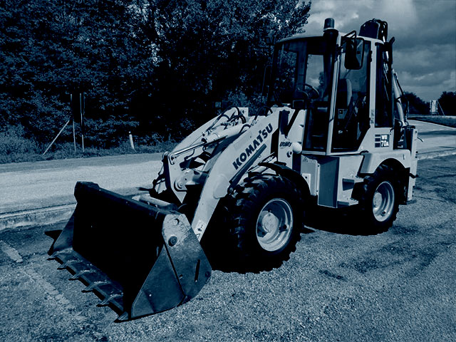 Used Articulated Backhoes
