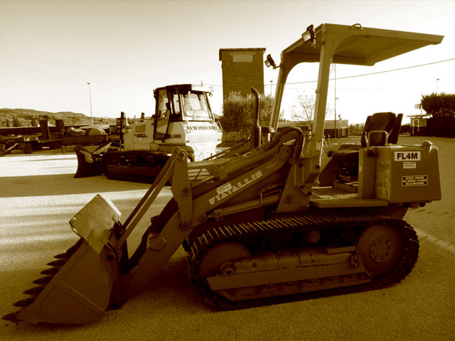 Used track loaders weighing up to 6T