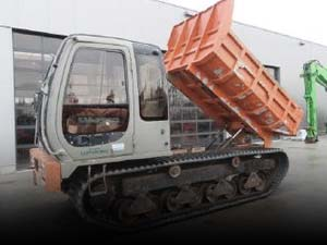 Used Tracked Dumpers