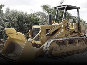 Used track loaders