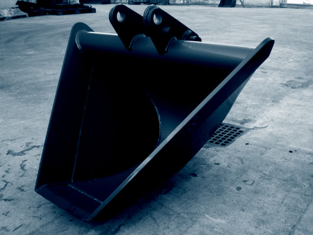 Used Trapezoidal Ditch Bucket