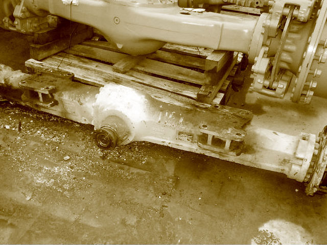Used Undercarriage Spare Parts