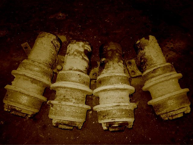 Used Undercarriage Rollers