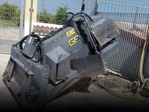 Used road construction attachments