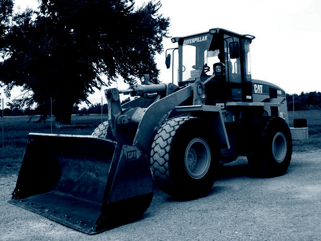 Used Wheel loaders weighing from 7 to 14T
