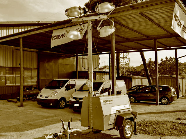 Used Worksite Lighting Equipment