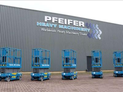 Genie GS1330M All-Electric DC Drive sold by Pfeifer Heavy Machinery