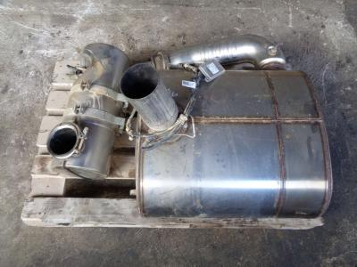 Muffler for Case 721 F sold by PRV Ricambi Srl