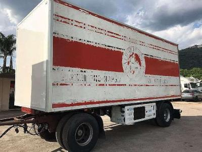 Cardi Refrigerated trailer sold by Ferrara Veicoli