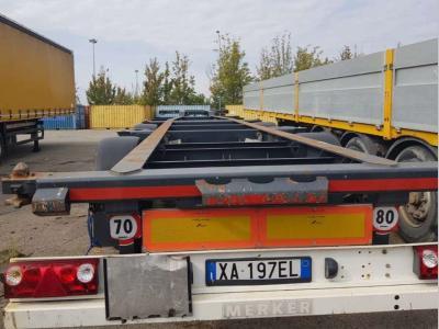 Merker Container chassis semi-trailer sold by Bartoli Rimorchi S.p.a.