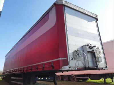 Merker Curtainsider / tarpaulin semi-trailer sold by Bartoli Rimorchi S.p.a.