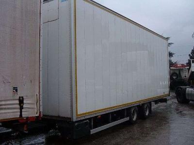 Miele Closed box semi-trailer sold by Ferrara Veicoli