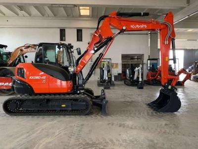 Kubota KX080-4 sold by Commerciale Adriatica Srl