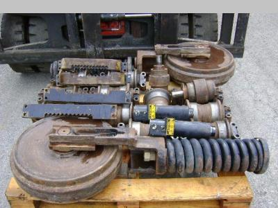 Idler wheel for Caterpillar 312 sold by PRV Ricambi Srl