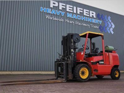 Clark CGP50H sold by Pfeifer Heavy Machinery