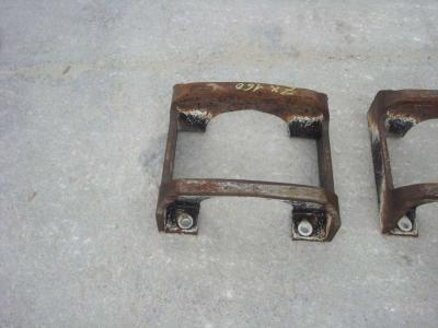 Track roller guard for Hitachi ZX 160 sold by OLM 90 Srl