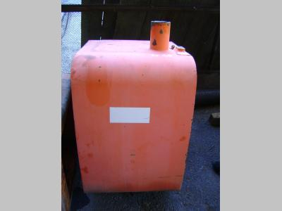 Diesel tank for Fiat Hitachi Ex 165 sold by PRV Ricambi Srl