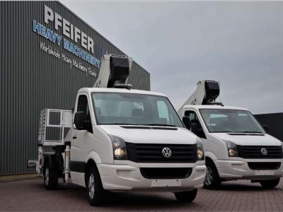 Ruthmann TB270.3 Driving Licence B/3. Volkswagen Crafter T sold by Pfeifer Heavy Machinery