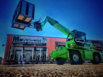 Merlo 50.21S Roto sold by Movinvest Srl