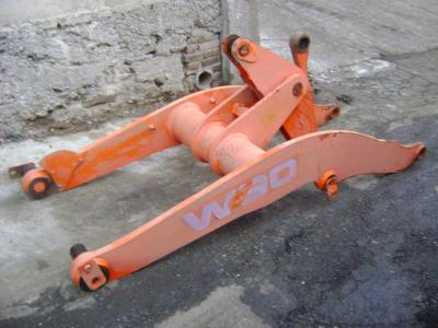 Arm for loaders for Fiat Hitachi W 90 sold by PRV Ricambi Srl