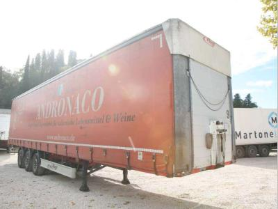 Fliegl Curtainsider / tarpaulin semi-trailer sold by Bartoli Rimorchi S.p.a.