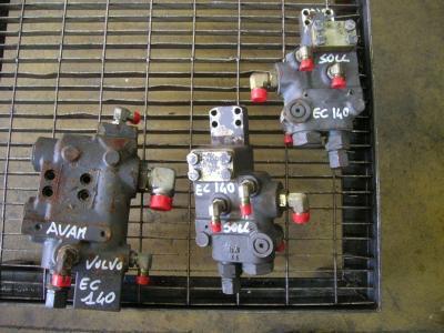 Block valve for Volvo Ec 140 B sold by PRV Ricambi