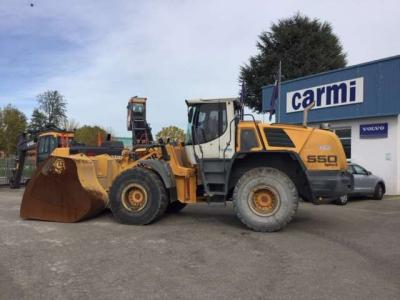 Liebherr L550 sold by Carmi Spa Oleomeccanica