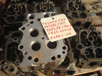 Cylinder head for Fiat 8285.22 sold by OLM 90 Srl