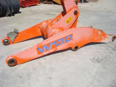 Arm for loaders for Fiat Hitachi W130 sold by OLM 90 Srl
